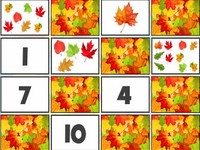 Autumn Leaves Memory games